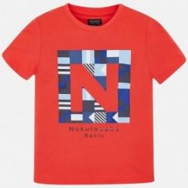 Mayoral 840-61 Koszulka chłopięca sportowa czerwona