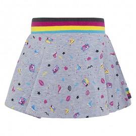 Spódnica dziewczęca bawełniana szara Tuc Tuc 49960-9