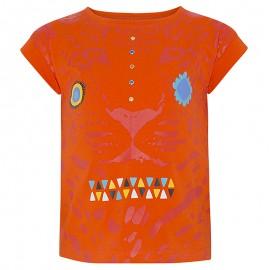 Bluzka dziewczęca bawełniana pomarańcz Tuc Tuc 49857-10