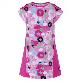 Sukienka dziewczęca bawełniana różowa Tuc Tuc 49940-1