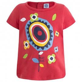 Bluzka dziewczęca bawełniana czerwona Tuc Tuc 49546-3