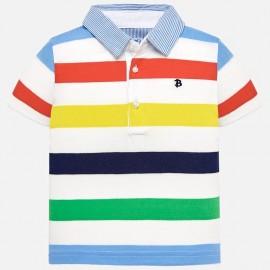 Mayoral 1115-69 Koszulka polo chłopięca kolor zielona