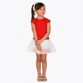 Mayoral 3955-37 Komplet dziewczęcy kolor czerwony