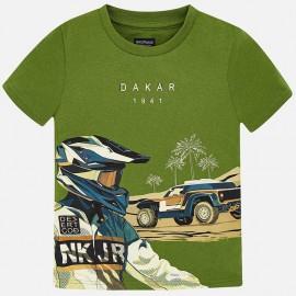 Mayoral 6037-81 Koszulka chłopięca kolor zielony