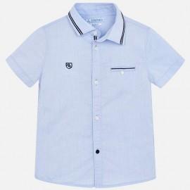 Mayoral 3129-67 Koszula chłopięca gładka kolor błękitny