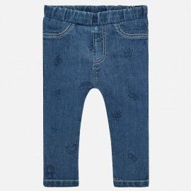 Mayoral 1519-27 Spodnie dziewczęce kolor niebieski