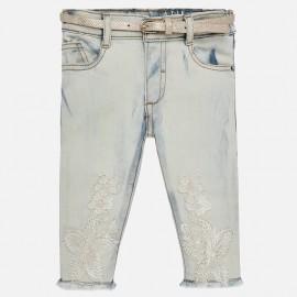 Mayoral 1516-61 Spodnie dziewczęce kolor niebieski