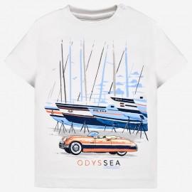 Mayoral 1020-38 Koszulka chłopięca kolor biały