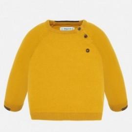 Sweter bawełniany gładki dla chłopca Mayoral 309-85
