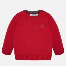 Sweter bawełniany pod szyję chłopięcy Mayoral 351-26
