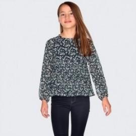 Spodnie jeans basic dla dziewczynki Mayoral 578-93
