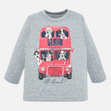 Koszulka z długim rękawem dla chłopca Mayoral 2027-59
