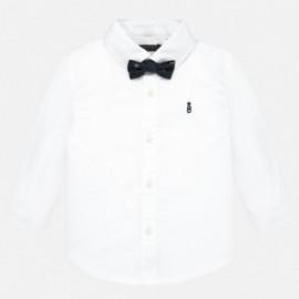 Koszula z długim rękawem z muszką chłopięca Mayoral 2111-35