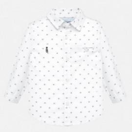 Koszula z długim rękawem żakardowa chłopięca Mayoral 2114-46
