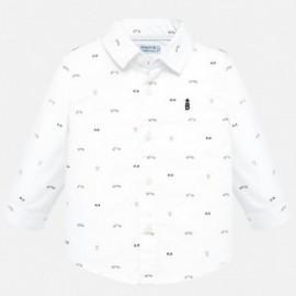 Koszula z długim rękawem we wzory chłopięca Mayoral 2115-41
