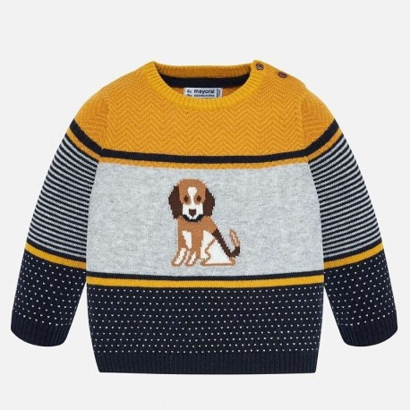 Sweter wkładany przez głowę dla chłopca Mayoral 2322-71