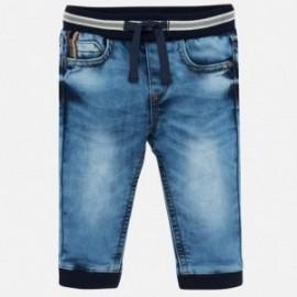 Spodnie jogger z miękkiego jeansu chłopięce Mayoral 2537-64