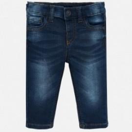 Spodnie z miękkiego jeansu chłopięce Mayoral 2542-50