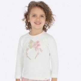 Koszulka z długim rękawem dla dziewczynki Mayoral 4005-26