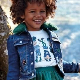 Koszulka z długim rękawem codzienna dla dziewczynki Mayoral 4013-18