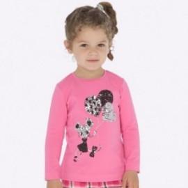 Koszulka z długim rękawem dla dziewczynki Mayoral 4016-65