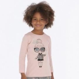 Koszulka z długim rękawem dla dziewczynki Mayoral 4016-63