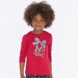 Koszulka z długim rękawem dla dziewczynki Mayoral 4016-64