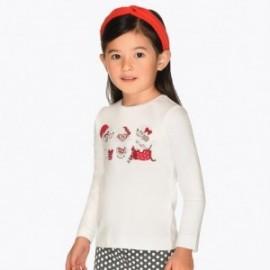 Koszulka z długim rękawem dla dziewczynki Mayoral 4016-62