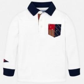 Koszulka polo z długim rękawem chłopięca Mayoral 4112-92