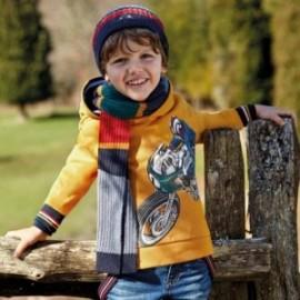 Bluza sportowa z kapturem dla chłopca Mayoral 4429-80