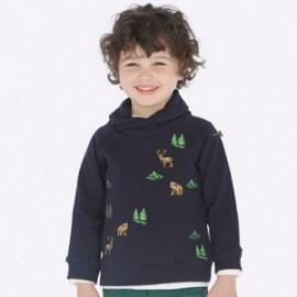 Bluza bawełniana z haftami dla chłopca Mayoral 4432-7