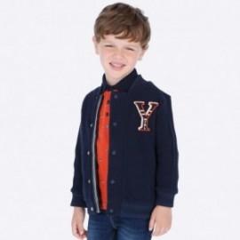 Bluza bawełniana na stójce dla chłopca Mayoral 4451-7