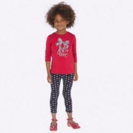 Leginsy z nadrukiem dla dziewczynki Mayoral 4706-71