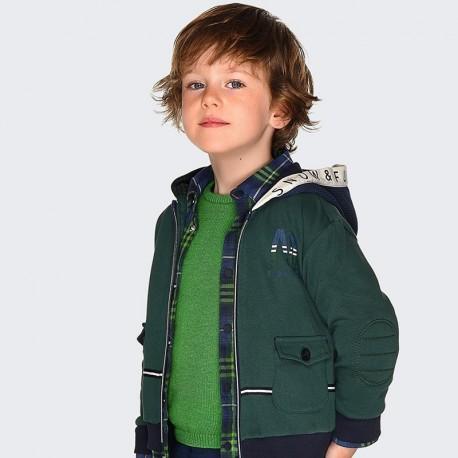 Sweter bawełniany pod szyję chłopięcy Mayoral 311-17