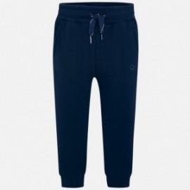 Długie spodnie dresowe na ściągaczu chłopięce Mayoral 725-76