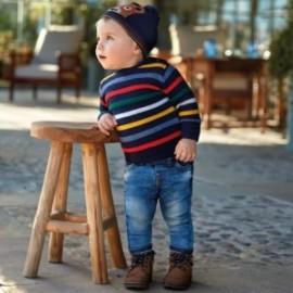 Spodnie z miękkiego jeansu chłopięce Mayoral 2542-49