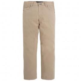 Mayoral 509-44 Spodnie serża z kieszeniami Migdał