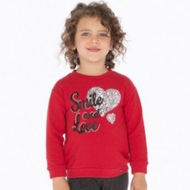 Bluza bawełniana sportowa dla dziewczynki Mayoral 4404-54