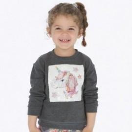 Bluza bawełniana sportowa dla dziewczynki Mayoral 4404-55