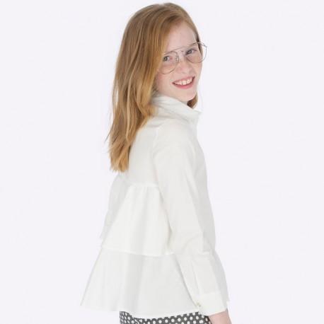 Bluzka elegancka z kołnierzykiem z cekinami dziewczęca Mayoral 7104-51