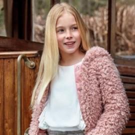 Bluzka elegancka z falbankami dziewczęca Mayoral 7105-26