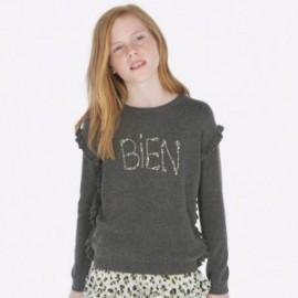 Bluza bawełniana sportowa dziewczęca Mayoral 7303-88