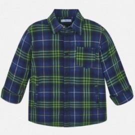 Koszula sportowa w kratkę chłopięca Mayoral 4117-84