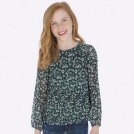 Bluzka we wzory z długim rękawem dziewczęca Mayoral 7108-75