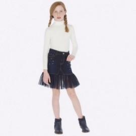 Spódnica jeans dla dziewczynki Mayoral 7910-66