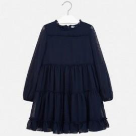 Sukienka z długim rękawem dla dziewczynki Mayoral 7937-58