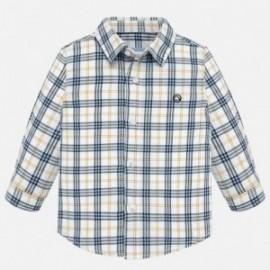 Koszula z długim rękawem krata chłopięca Mayoral 2116-16
