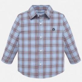 Koszula z długim rękawem krata chłopięca Mayoral 2116-15