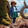 Spódnica plisowana z eko skóry dziewczęca Mayoral 4909-17