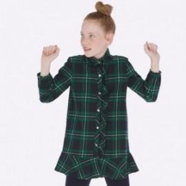 Sukienka w kratkę dla dziewczynki Mayoral 7936-75